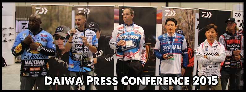 2015 Daiwa Press Conference