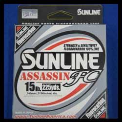 Sunline Assassin FC PR 100% Fluorocarbon New for 2015