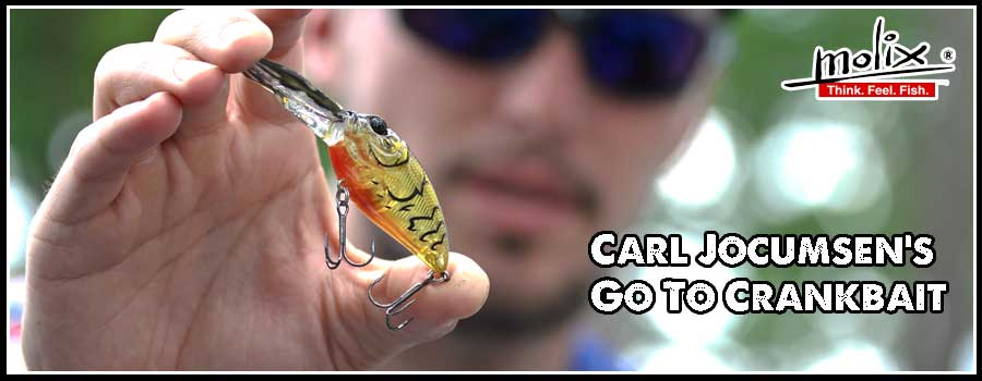 Carl Jocumsen's Go To Crankbait