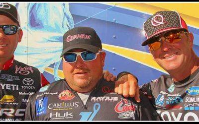 VanDam, Powroznik, and Swindle talk Toledo Bend