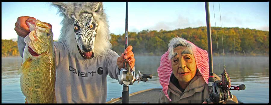 Lee Brothers Choose One Treat Each for Tricking Halloween Largemouth