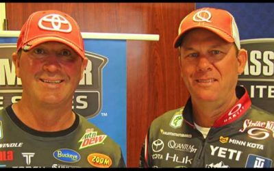 Swindle and VanDam preview first Bassmaster Elite tournament of 2018 at Lake Martin