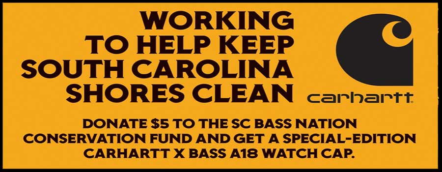 Donate $5, Get a Custom Carhartt Beanie,  And Help Clean Up 11 SC Lakes