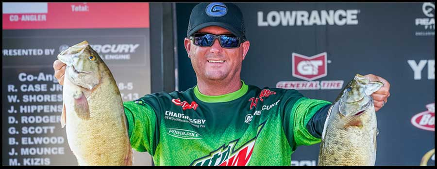 Grigsby Tops 25 Pounds To Take Early Lead at FLW Tour on Lake St. Clair