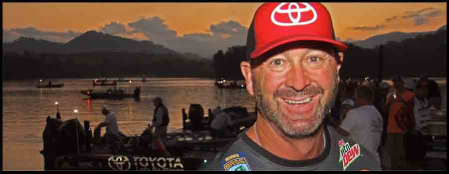 Swindle Talks Fishing and Football Friday morning at Lake Chatuge