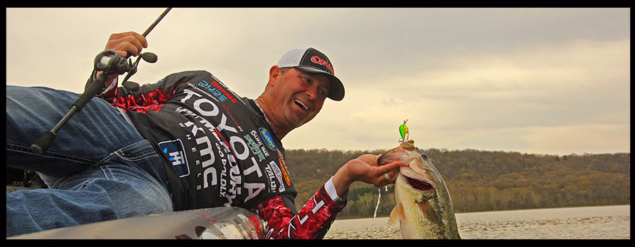 Swindle Says You Only Need Three Colors of Crankbaits