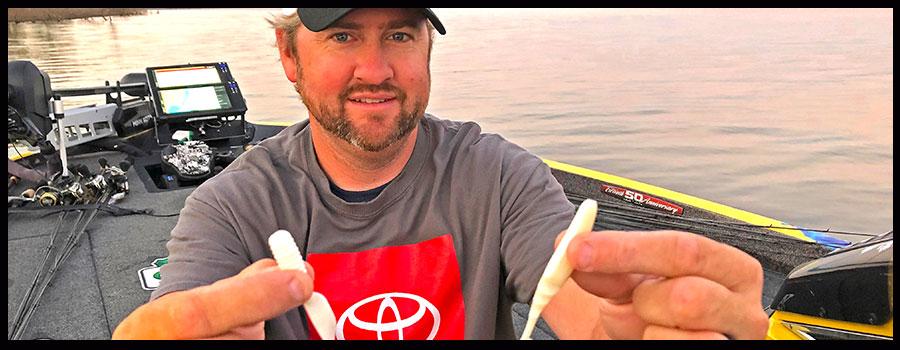 Matt Arey's Trick for Finicky Topwater Schooling Bass