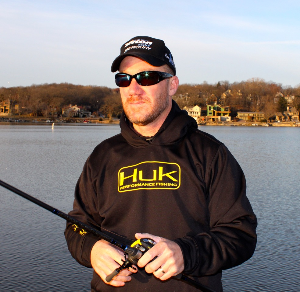 Chapman joins huk for Huk fishing gear
