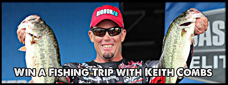 Win a Fishing Trip with Keith Combs