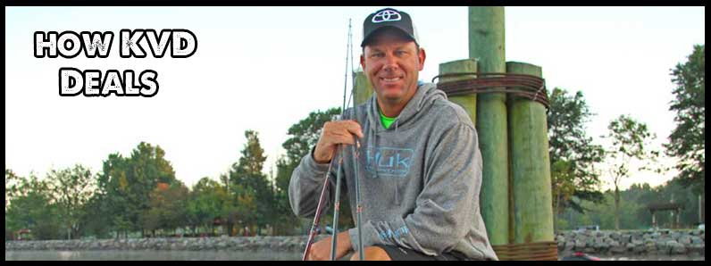 How Kevin VanDam Approaches Fast Rising Water