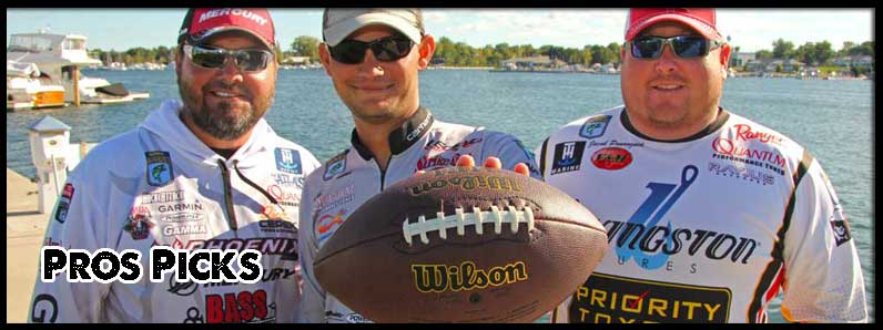 Pros Choose One Lure for Fall,  and Offer One Football Scholarship