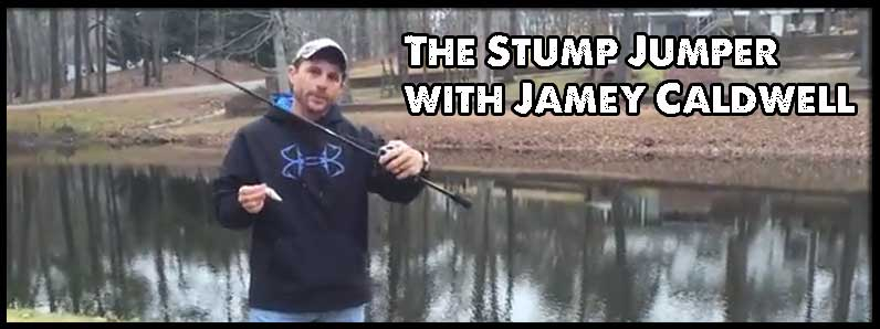"JB Custom Rods – JC Pro Angler Series ""Stump Jumper"""