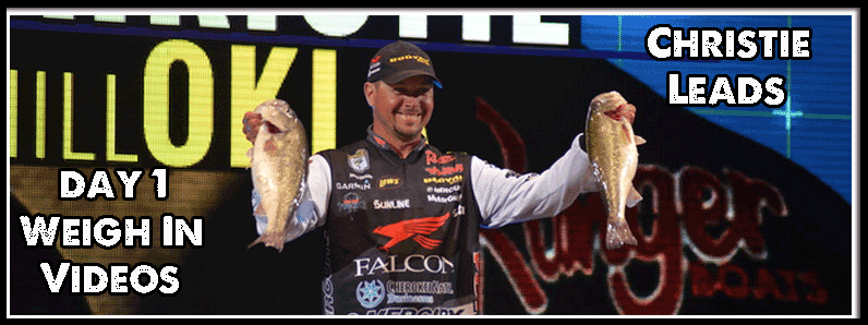 2016 Bassmaster Classic – Day 1, Weigh In Video