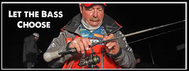 Grigsby Lets the Personalities of Spawning Bass Determine Rod and Reel Choice