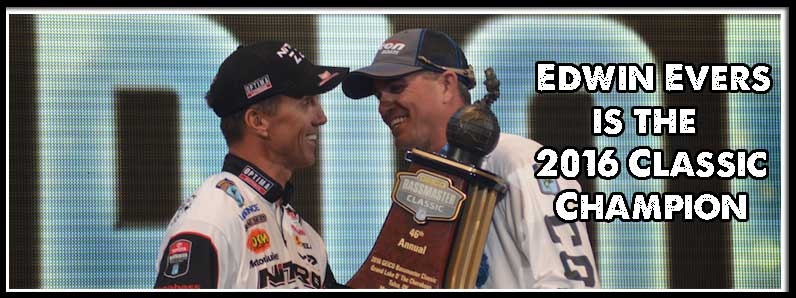 Evers Wins the 2016 Bassmaster Classic