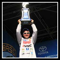 Tharp Masters Bull Shoals And Norfork For His First Elite Series Win