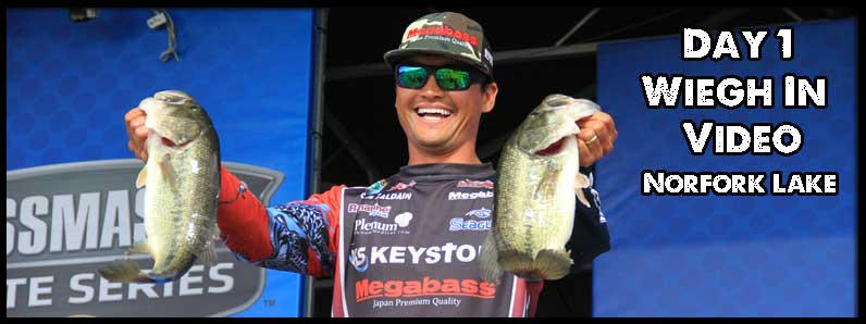 Day 1 Weigh In Videos Norfork Lake 2016