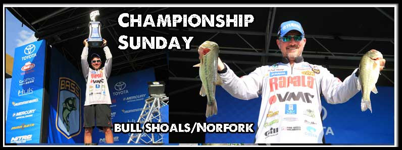 Championship Sunday Bull Shoals / Norfork 2016