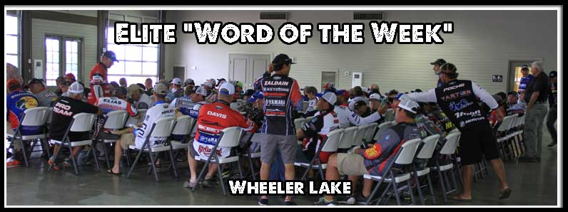 """Word of the Week"" from Wheeler Lake"