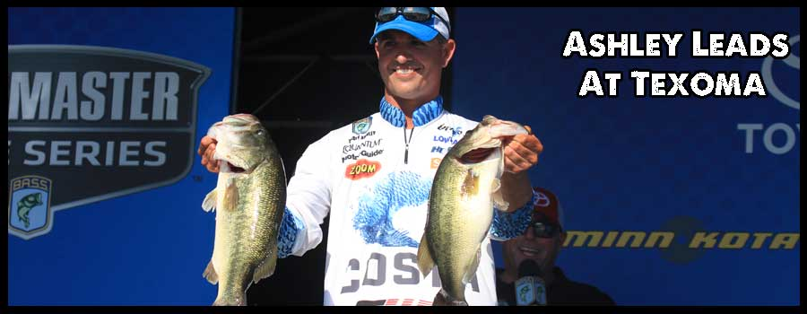 Casey Ashley Leads After Day 1 at BASSfest