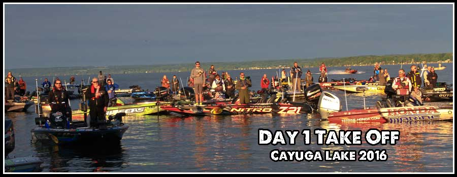 Day 1 at Cayuga Lake (morning)
