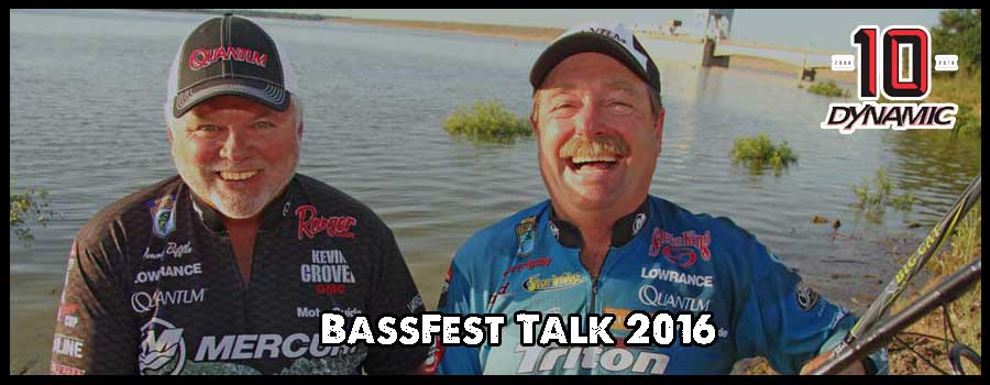 Veteran Pros Biffle and Grigsby Talk BASSfest at Texoma
