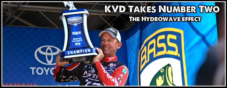 KVD Takes Number Two at Cayuga Lake