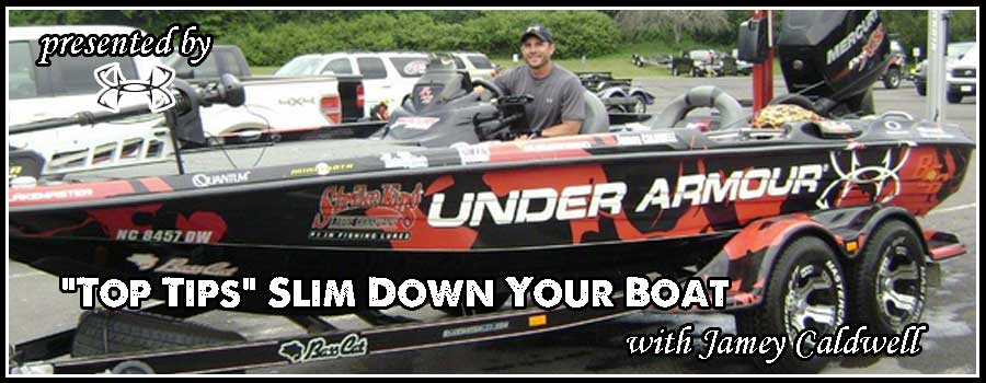 """Top Tips"" Slim Down Your Boat with Jamey Caldwell"