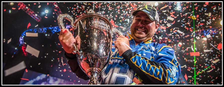 Cox Goes Wire-To-Wire, Wins Professional Bass Fishing's Forrest Wood Cup