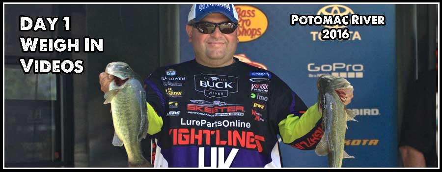 Potomac River Day 1 Weigh In