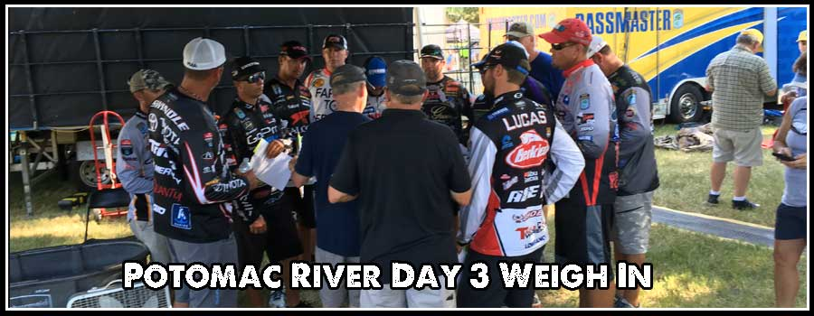 Day 3 Potomac River 2016 Weigh In