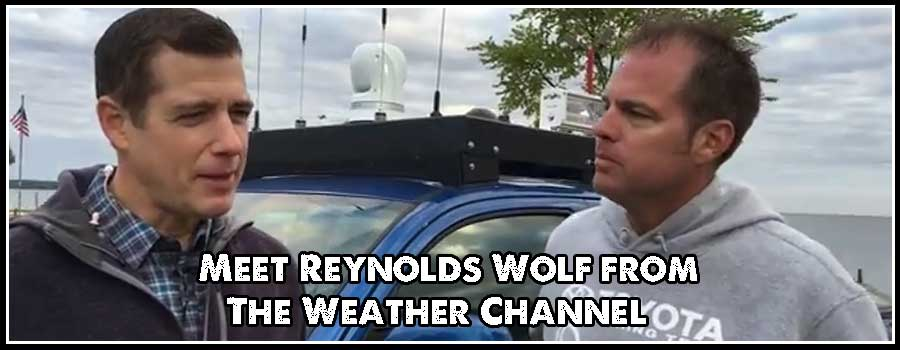 Meet Reynolds Wolf of the Weather Channel
