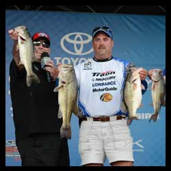 Kentucky's Boggs Takes First Round Lead In B.A.S.S. Nation Championship