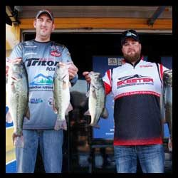 Thompson And Weese Take The Lead In National Team Bass Fishing Championship