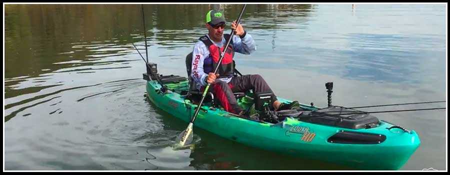 COOSA HD the Ultimate Fishing Kayak