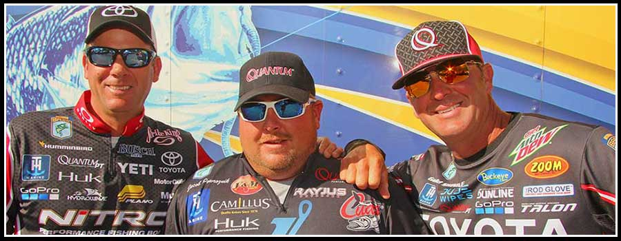 VanDam, Powroznik, and Swindle talk Toledo Bend