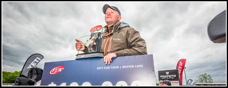 McCombs wins FLW Tour at Beaver Lake