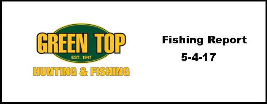 Green Top Fishing Report 5-4-17