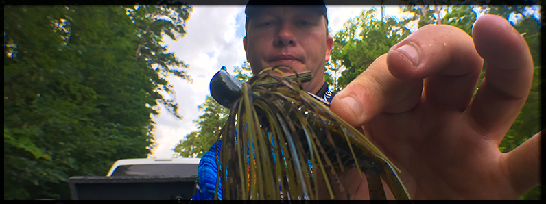 Post Spawn Jig Fishing with Montgomery