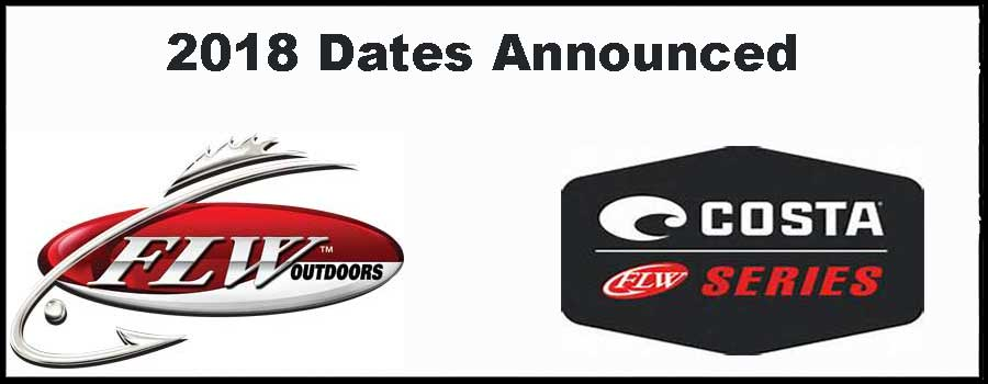 FLW Announces 2018 Costa FLW Series Schedule