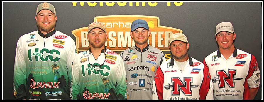 College Anglers Preview Lake Bemidji  at Carhartt Bassmaster Championship