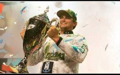 Atkins Wins Professional Bass Fishing's Forrest Wood Cup