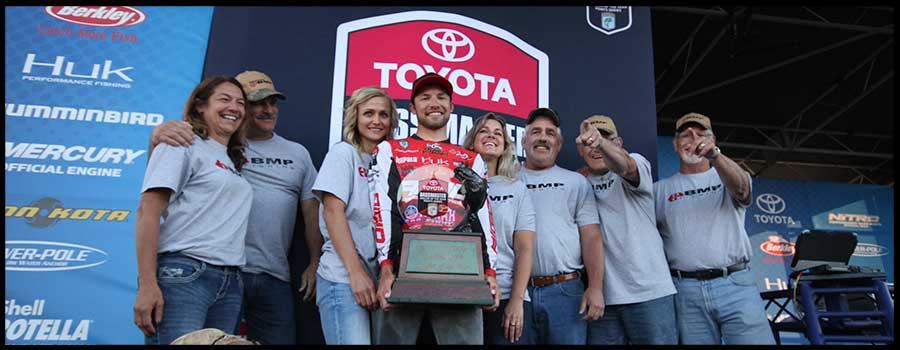 Palaniuk Caps Magical Season With Toyota Bassmaster Angler Of The Year Title