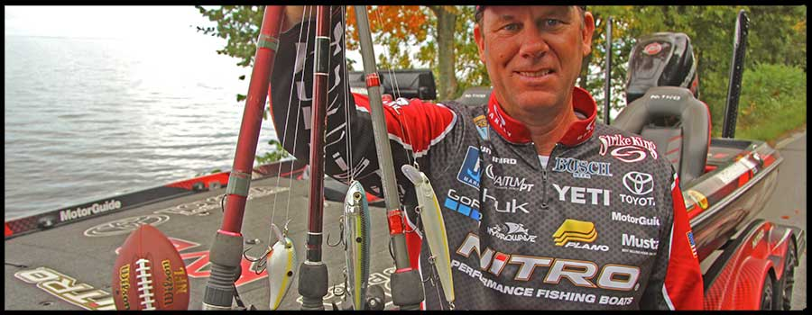 Kevin VanDam's Three Favorite Lures for Fall