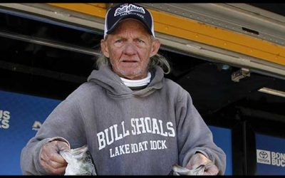 71-Year-Old Angler Takes The Lead For Final Bassmaster Classic Berth