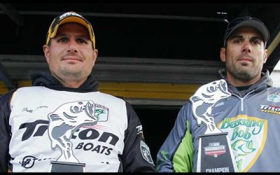 Missouri Brothers Win Toyota Bonus Bucks Bassmaster Team Championship On Norfork Lake