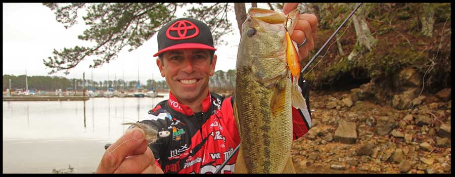 Two Lures Iaconelli Won't Be Without in Winter