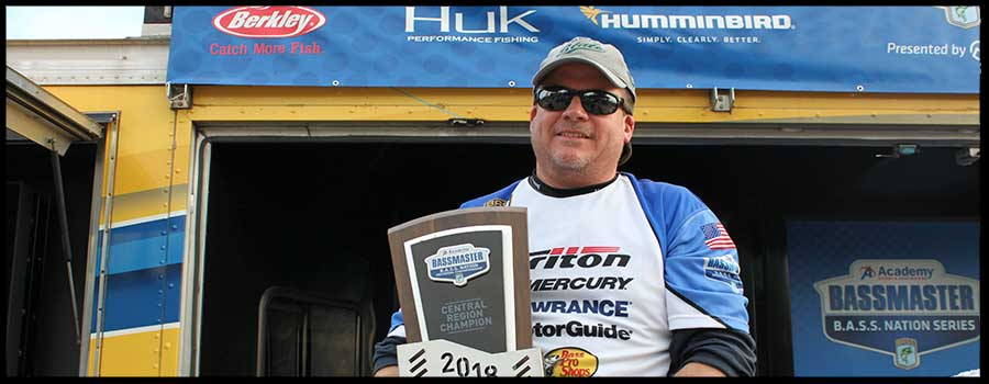 Illinois Fisherman Claims Victory In B.A.S.S. Nation Regional On Louisiana's Toledo Bend Reservoir