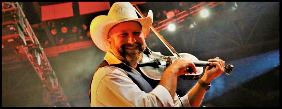 Country Music's Bass Fishing Fiddle Player
