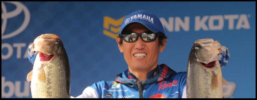 Takahiro Omori Is On Top Again At Grand Lake Bassmaster Elite